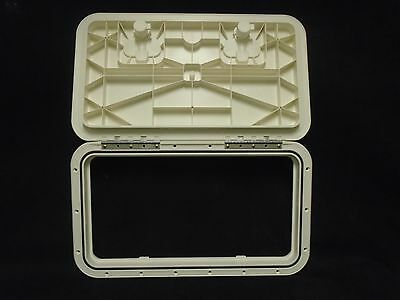 Innovative Product Solutions 520-065 Polar White 9 x 19 inch Boat Deck Hatch