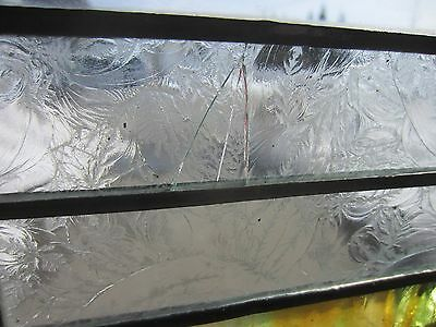 ~ Antique American Stained Glass Window Arts & Crafts ~ Architectural Salvage ~ 6