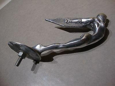 Rocket Man Mascot bonnet hood ornament art deco Rocketeer aluminium VAC215
