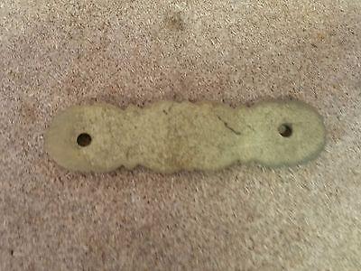"Set of 3 Matching Ornate DRESSER DRAWER PULLs Soild BRASS   3"" holes (2oz each) 3"