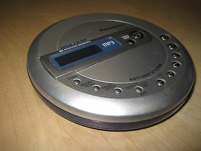 Panasonic SL-SV550 Walkman Portable CD Player NEW in SEALED CASE Silver