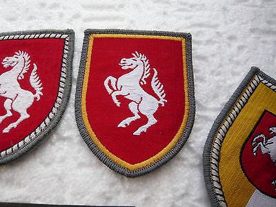 1.PzDiv. 7.PzDiv KLETT Konvolut Bw Verbandsabzeichen PzGrenBrig1 Pzbrig21