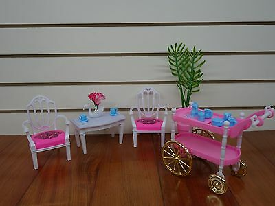 Gloria, Barbie Size Doll House Furniture/(96007) Tea for Two Play Set 2
