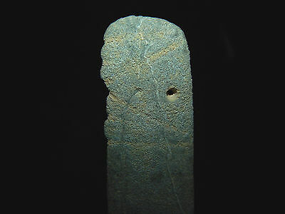 Pre-Columbian Jade Avian Pendant, Central America, Authentic 3