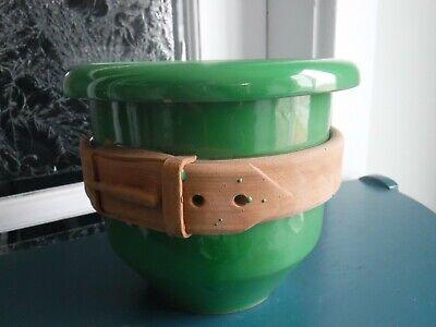 Vintage Green Italy Planter 12