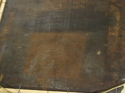 Unusual 18th 19th Century Skeleton Devil Demon At The Banquet Antique Painting 10