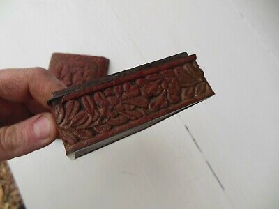 Antique Asian Soap Jewelry Box Redware Stoneware Carved Domed Lid 9