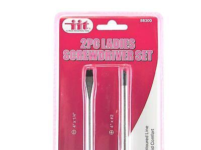IIT 88300 Ladies Pink Screwdriver Set