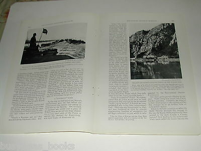 1929 magazine articles x2 on the Danube and Austria, color pics, history, people 3