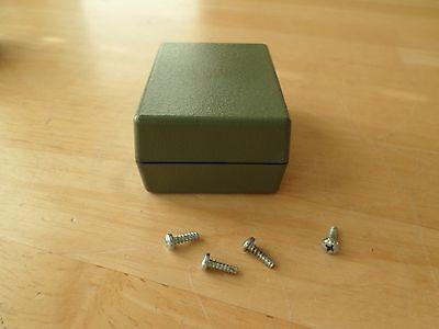 FB01 Universal Electronic Plastic Project Small Box Black