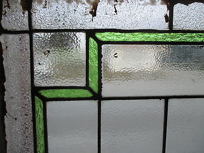 ~ Antique American Stained Glass Window ~ 44 X 36 ~ Architectural Salvage ~ 4