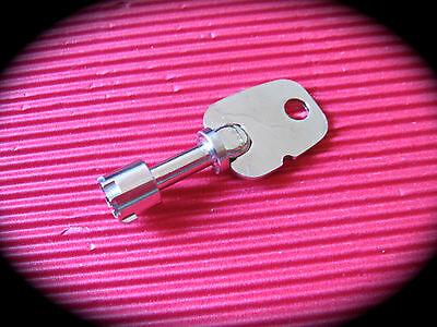 16mm Tubular Lock W/Giraffe Key -Vending,Coin Operated,Greenwald,Washing Machine 3