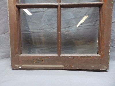Antique 6 Lite Window Sash 35x20 Casement Sunroom Architectural Old Vtg 625-18P 4