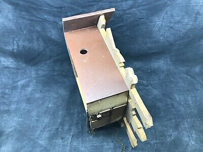 Antique Cuckoo, Control West Germany Cash Wooden Clock Pendulum 2