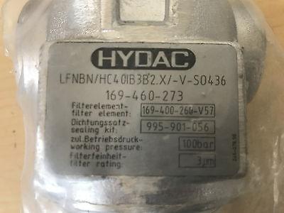 HYDAC LFNBN/HC4 0IB3B2 Leitungsfilter Druckfilter unbenutzt