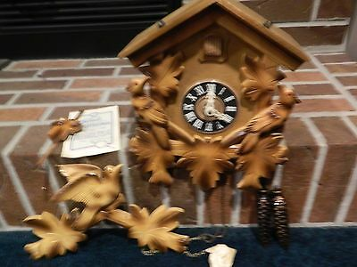 Antique Cuckoo Clock Gebhardt 1966 New 2