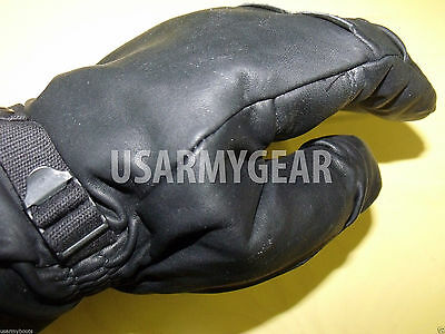 Army Leather Cold Wet Weather ICW Quality Size 3 Gloves XS,S,M Medium Womens Kid 8