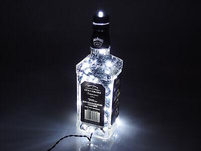 Jack Daniels - Flaschen Lampe mit 80 LEDs 220V Warm- UND Kalt-Weiß UMSCHALTBAR 7