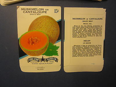GOURDS Wholesale Lot of 25 Old Vintage 1950/'s Ornamental SEED PACKETS Empty