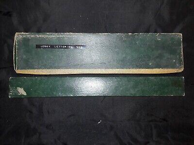 Vintage Keuffel & Esser Company Leroy Lettering Set 4