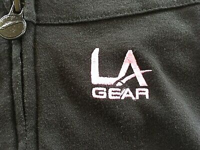 Girls LA Gear  Black Hooded Top. Size 11-12 Years 3