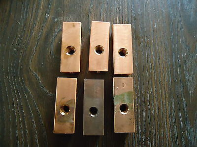 6 New Copper Electrode Holder #1047635A-42.