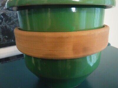 Vintage Green Italy Planter 4