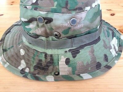 Multicam Boonie Hat US Army Woodland BDU Jungle Sun Cap Military 1 Size Fits All 7