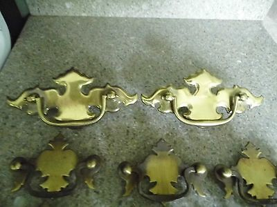 Vintage Hardware - Lot of 15 Drawer pulls - various sizes & types 5