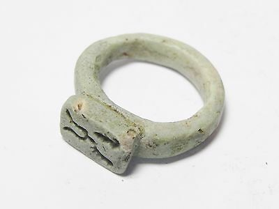 Zurqieh -Q206- Ancient Egypt , Happy New Year Wishes Ring. 1075 - 600 B.c 3