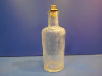 7 alte Apothekerglasflaschen - Drogistenflaschen 9