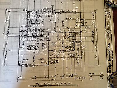 Home plans by Design Basics - 4 bedroom 3 bath 1846 sqft finished -  bond print 4