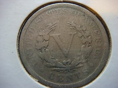 Lot of 3 Liberty Head Nickel - five cent Coins 1903,1909,1912-D Nice coins #9611