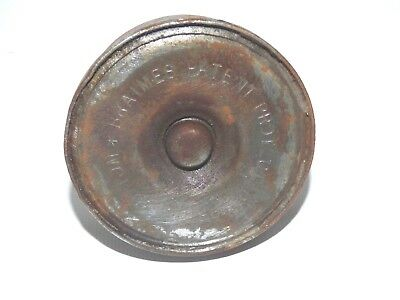 BRAIME'S PATENT PROTECTED SPRING BOTTOM VINTAGE, OIL CAN No. 32 3