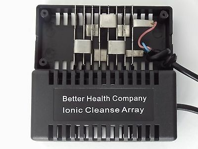 10 ion Ionic Foot Bath Spa Detox Rectangular arrays! Better Detox!  Long Lasting