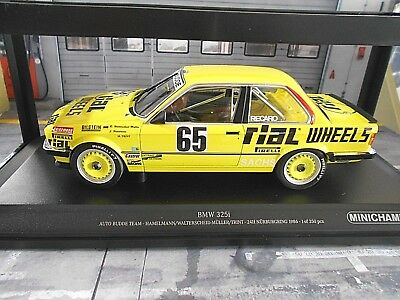 24h Nürburgring 1986 1:18 Minichamps BMW 325i E30 #65