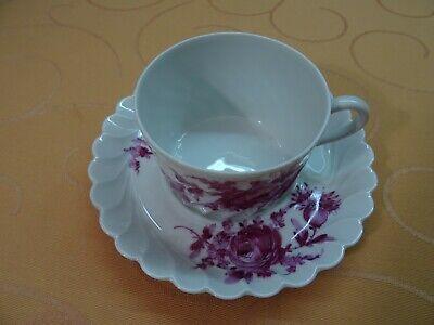 NEU! Untertasse Haviland Limoges France Porzellan Kaffeetasse Kuchenteller