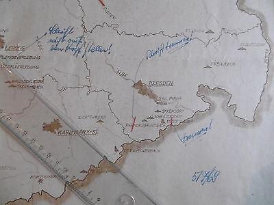 MdI Volkspolizei  Korrekturvorlage Flüsse DDR Flüße,Talsperren Rückhaltebecken