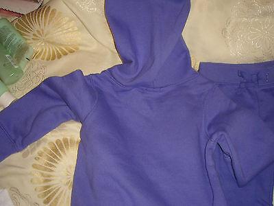 gap girl child set top trousers 2T 84 to 91cm 13 to 15kg bnwt sweatshirt purple 5