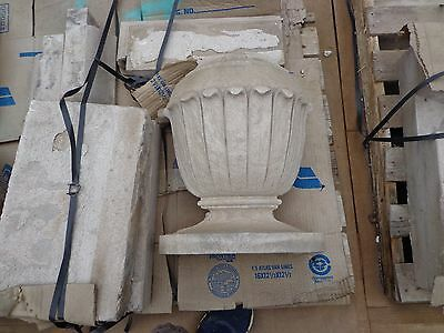 Lot of 4 Antique Stone Entrance Entryway Columns Arches Modillion