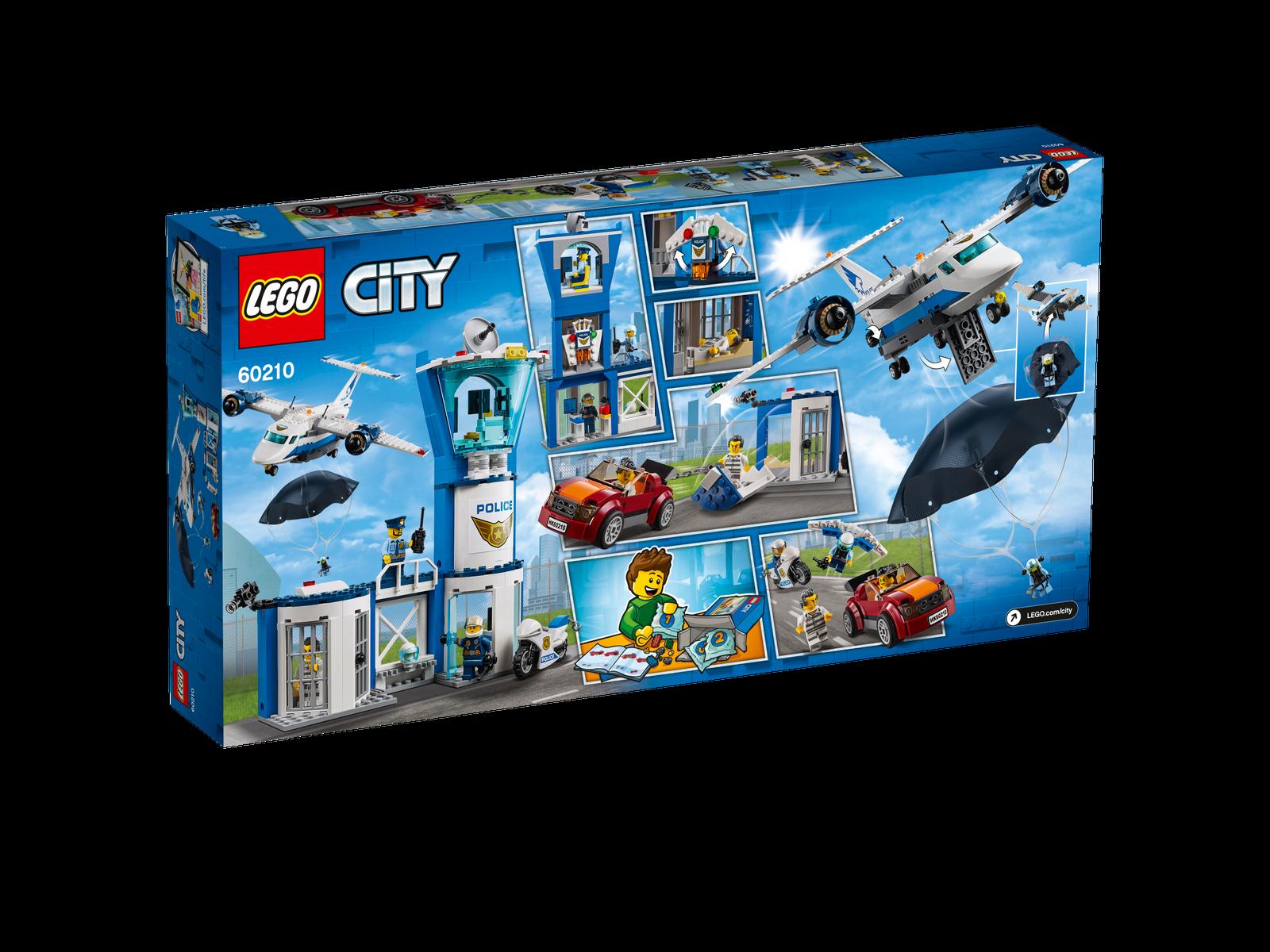 """LEGO® City  60210  /"""" Polizei Fliegerstützpunkt /"""" NEU /& OVP"""