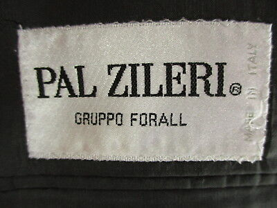 Pal Zileri Mens Charcoal Stripe 2 Btn Cerruti 1881 S120s Suit 42R Italy Made 5