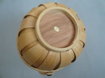 "Vintage Chinese 6.5"" sewing basket 2"