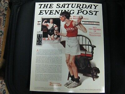 "Rare And Vintage Norman Rockwell ""The Saturday Evening Post"" Amerivox Phone Card 2"