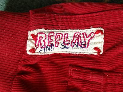 Replay & Sons girl's designer trousers  size 2 years 7