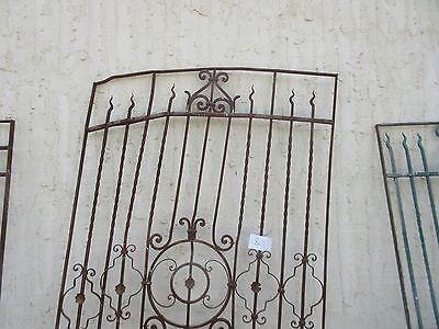 Antique Victorian Iron Gate Window Garden Fence Architectural Salvage #864 2