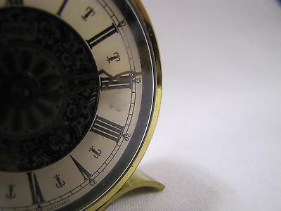 Vintage Desk Clock Amigo Small Vintage Germany For Partsrepair