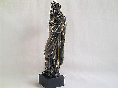 Sculpture Dionysus/Bacchus god of wine Greek Mythology statue figure brass 3