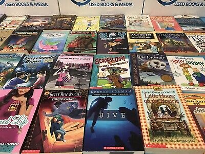 Lot of 10 Children's Kids Chapter Books Instant Library Unsorted FREE SHIPPING! 2