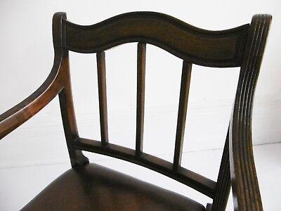 Regency period Mahogany Elbow Chair, circa 1810. 4